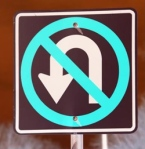 No U-turn?