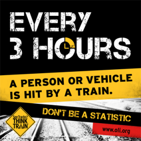 Rail Crossing Safety   Right Side of the Road